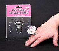 Hen Party Engagement Ring