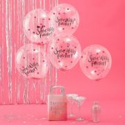 Same Willy Forever Confetti Balloons