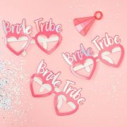 Bride Tribe - Glasses - Pink