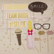 Ginger Ray Pastel Perfection Wedding Photo Props