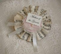 Vintage Mother of the Groom Rosette